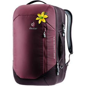 Deuter Aviant Carry On 28 SL Sac à dos de voyage Femme, maron/aubergine